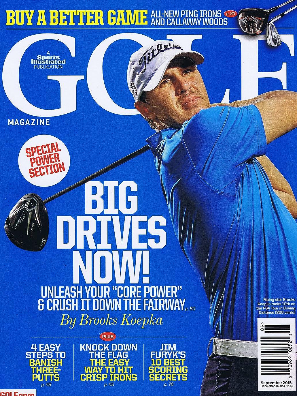 南方のピストンライバルGolf Magazine [US] September 2015 (単号)