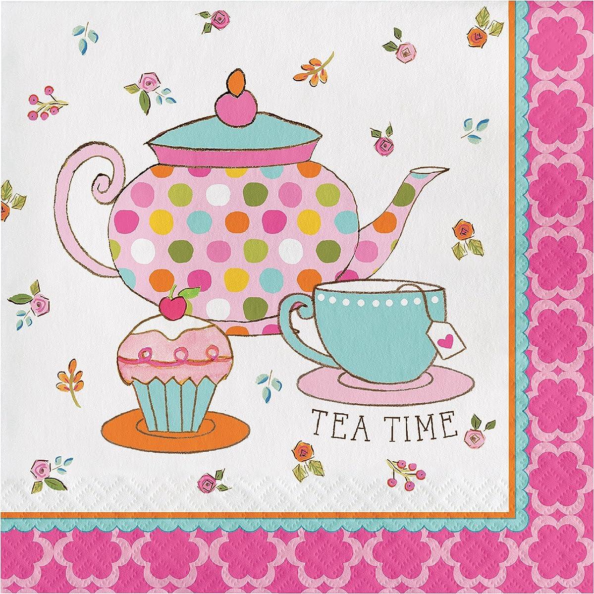 Tea Time Napkins, 48 ct