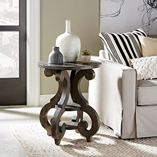 Magnussen Bellamy Round Accent End Table, 26