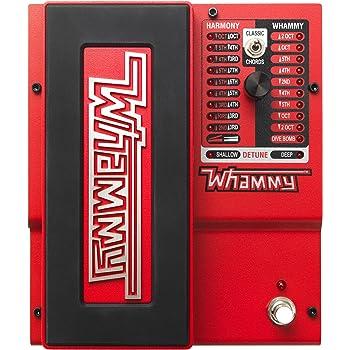 DigiTech Whammy 5 - Harmonizer/Pitch Shifter for E-Guitar, Rojo ...