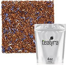 Tealyra - Rooibos Earl Grey - Caffeine-Free - Herbal Loose Leaf Tea - Red Bush Tea with Bergamot oil - Claming and Relaxing Blend - 110g (4-ounce)