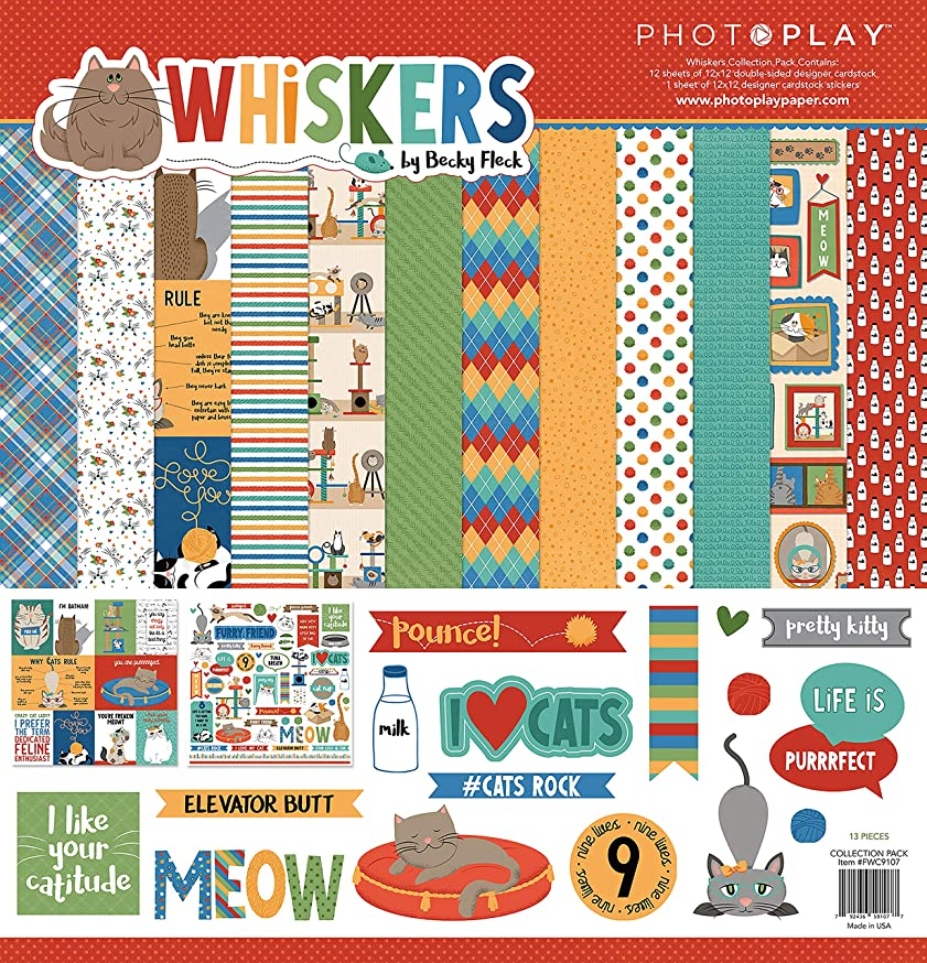 Photoplay Paper FWC9107 PhotoPlay Collection Pack 12