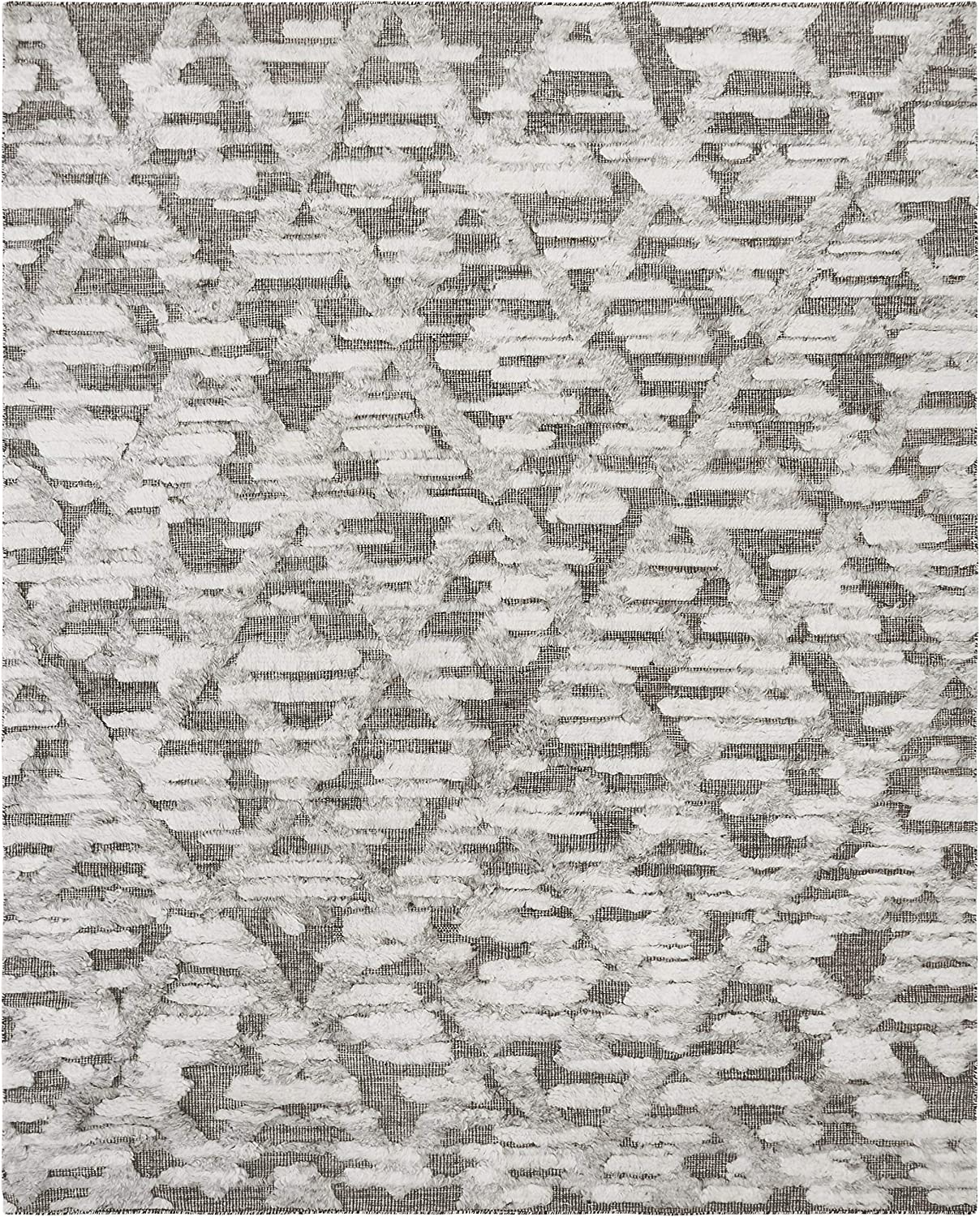 EORC New NEW before selling product type DL3IV9X12 Hand Knoted Wool Transitional High-Low x 9' Rug
