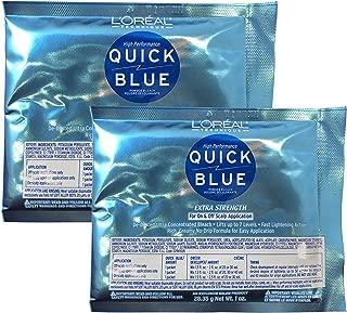 L'Oreal Quick Blue Powder Bleach, 1 oz (Pack of 2)
