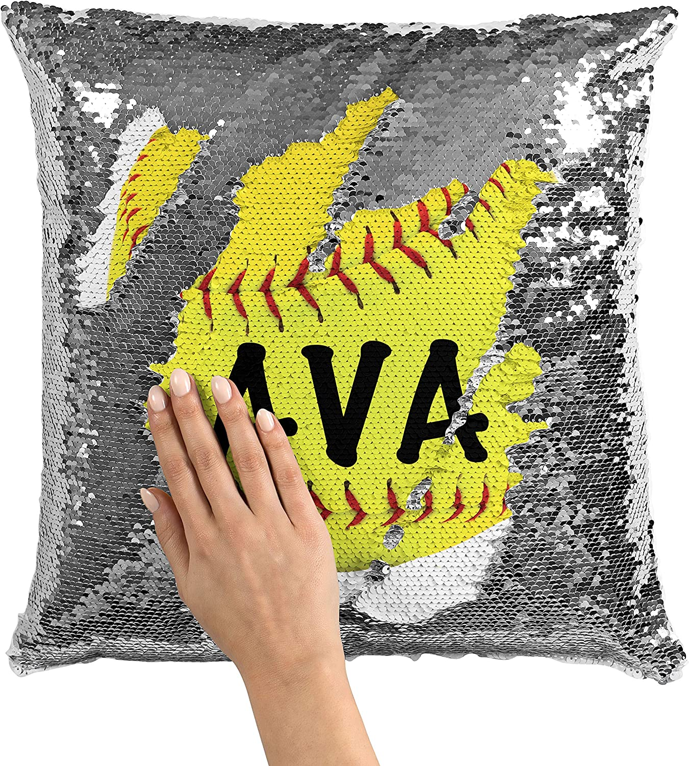 Violet Victoria Large special price !! Fan Star Personalized Popular product Softball Sequin Mermaid
