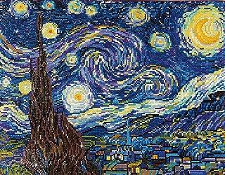 DIAMOND DOTZ DD9.001 Starry Night (Van Gogh) 50.8 X 40.6CM (20 X 16IN)