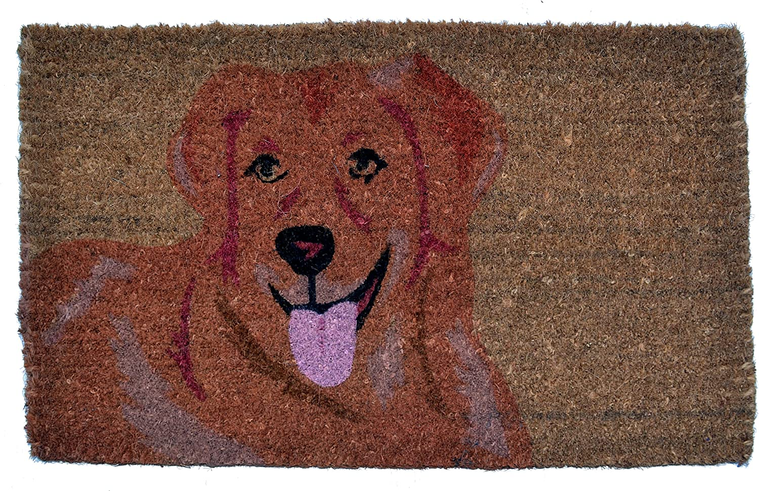 Imports Décor Golden Retriever Printed 30 Max 70% OFF Coir trend rank by 18 Doormat