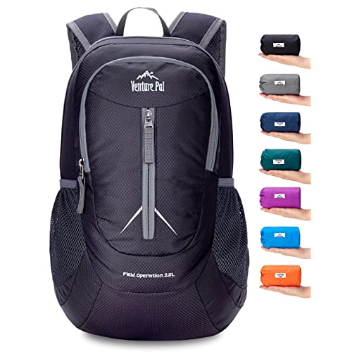 f9840e4675 Venture Pal Packable Lightweight Backpack Small Water Resistant Travel  Hiking Daypack