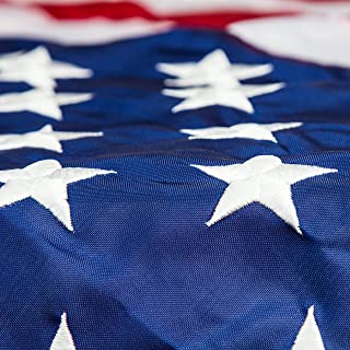 Valley Forge Flag and OllieD Veteran Appreciation US Flag, Perma-Nylon, 5 by 8 Feet