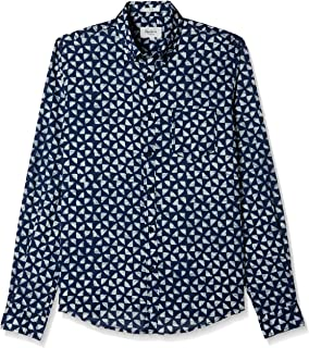 Pepe Jeans Men's Solid Slim Fit Casual Shirt