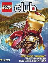 Lego Club Magazine May-June 2013 MARVEL IRONMAN IRON MAN Action Packed Glossy Comic (Lego Marvel Iron Man)