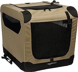 comprar comparacion AmazonBasics - Transportín para perros, blando, plegable, 53 cm