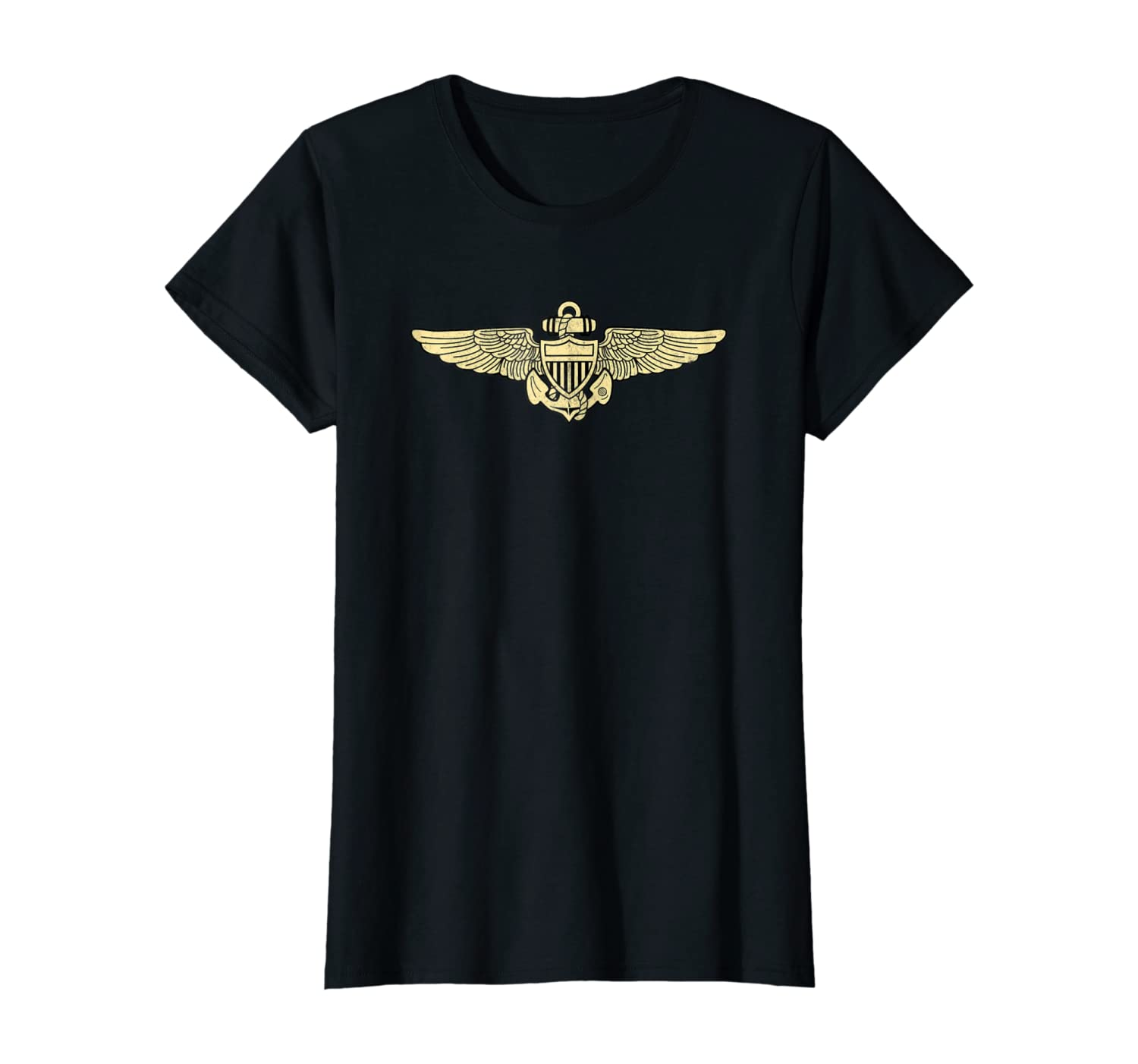 Naval Aviator Shirt Naval Officer Pilot Wings Tee