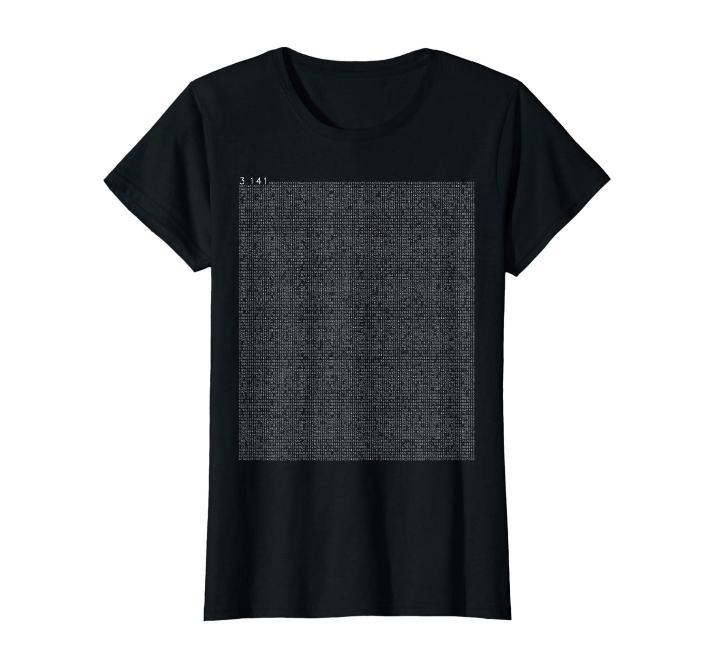 10000 decimals pi math motif as a gift for nerd carnival T-Shirt