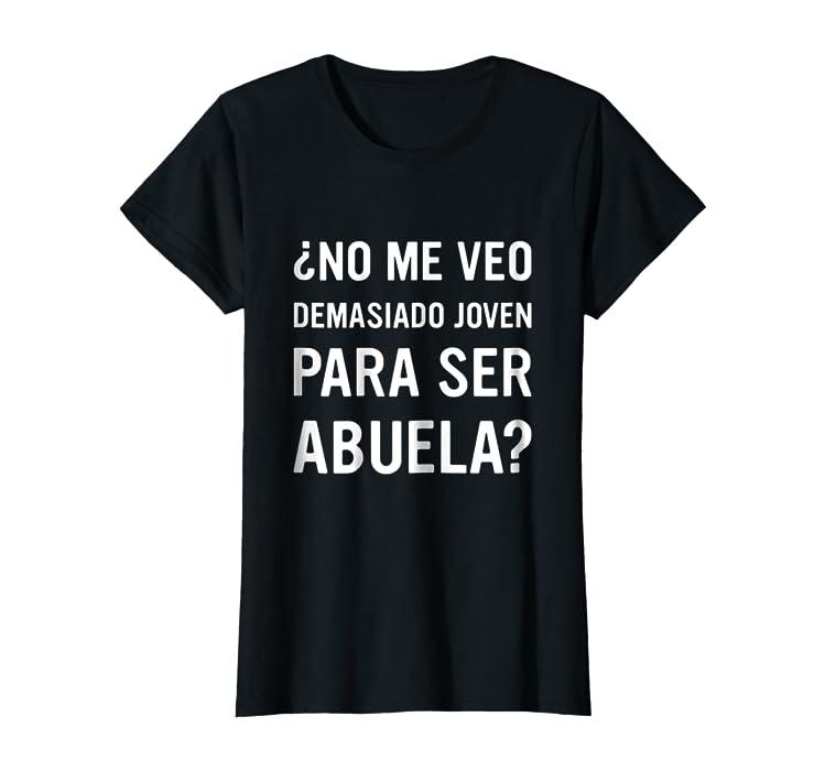 Womens Regalo para Abuela Tshirt Playera para Abuela en Espanol