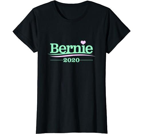Womens Bernie 2020   Bernie Sanders Girl Power Cute T Shirt
