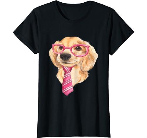 Golden Retriever Puppy Women's Or Girls Novelty Funny T Shirt