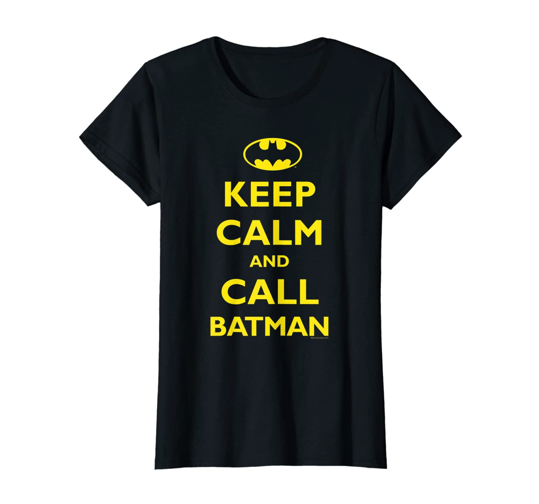 Batman Keep Calm T-Shirt-ANZ
