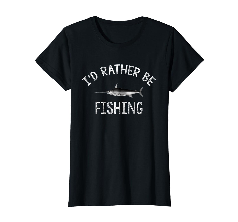Id Rather Be Fishing T-Shirt Hoodie Tshirt