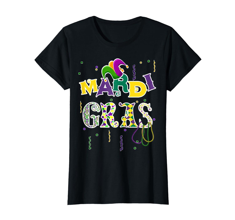 Mardi Gras 2019 T-Shirt Beads Parade Party Gift TShirt