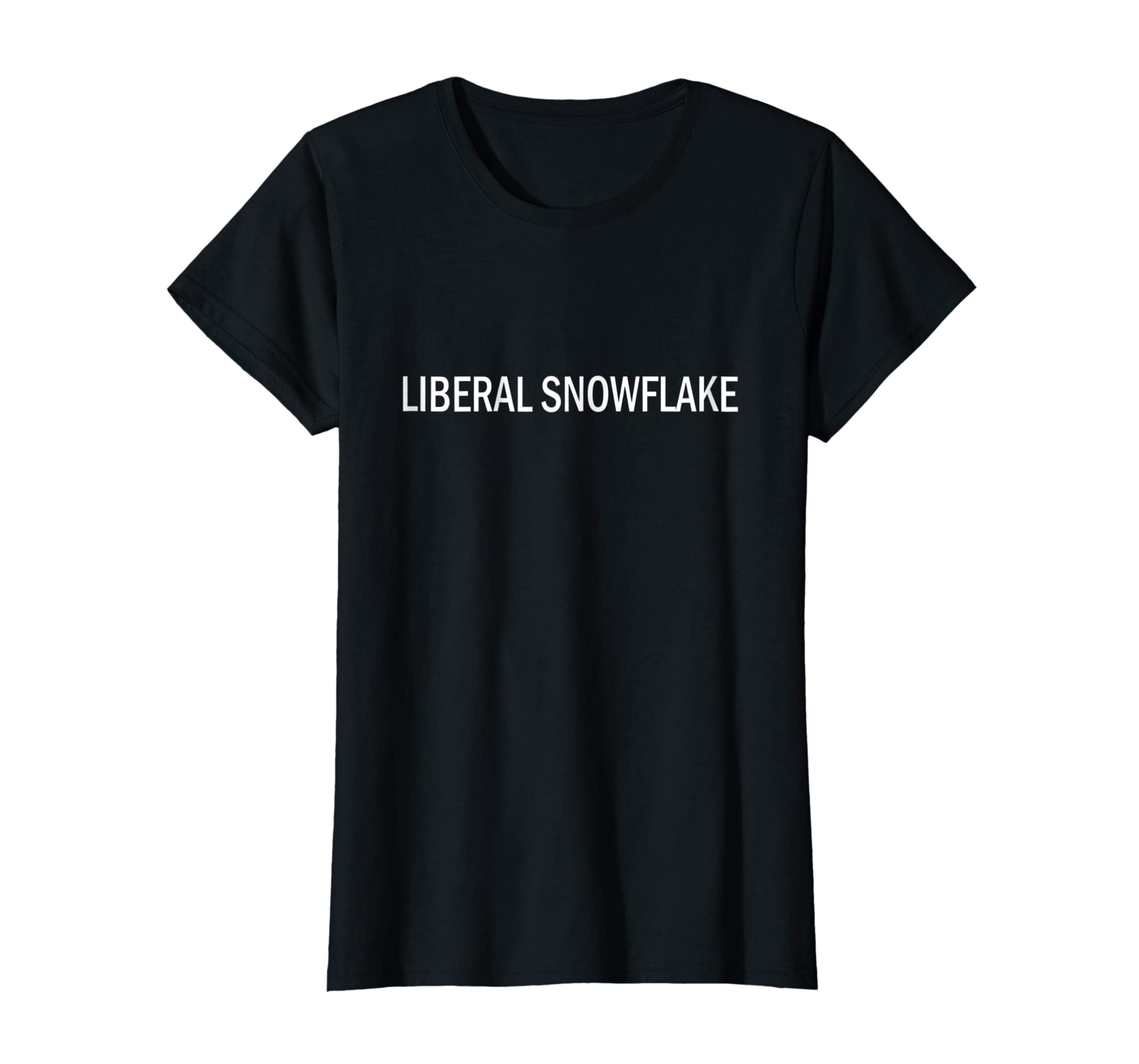 Amazon Com Liberal Snowflake Political Democrat T Shirt Clothing