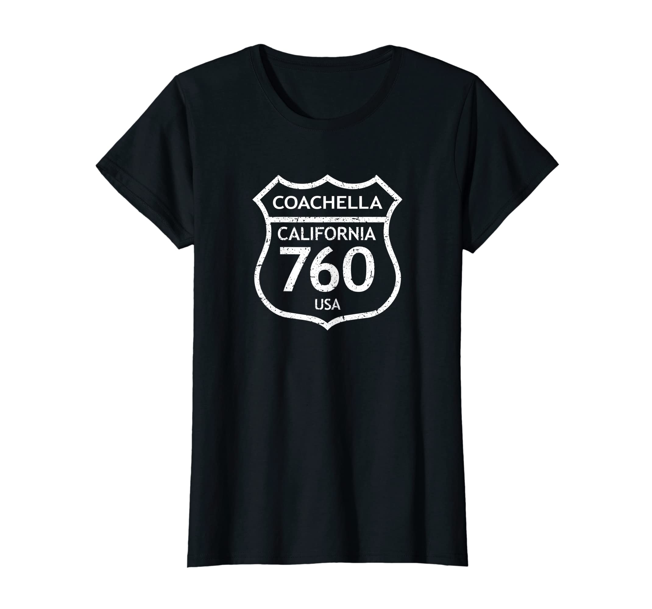 California Area Code 760 Coachella, CA Home State T Shirt: Gateway