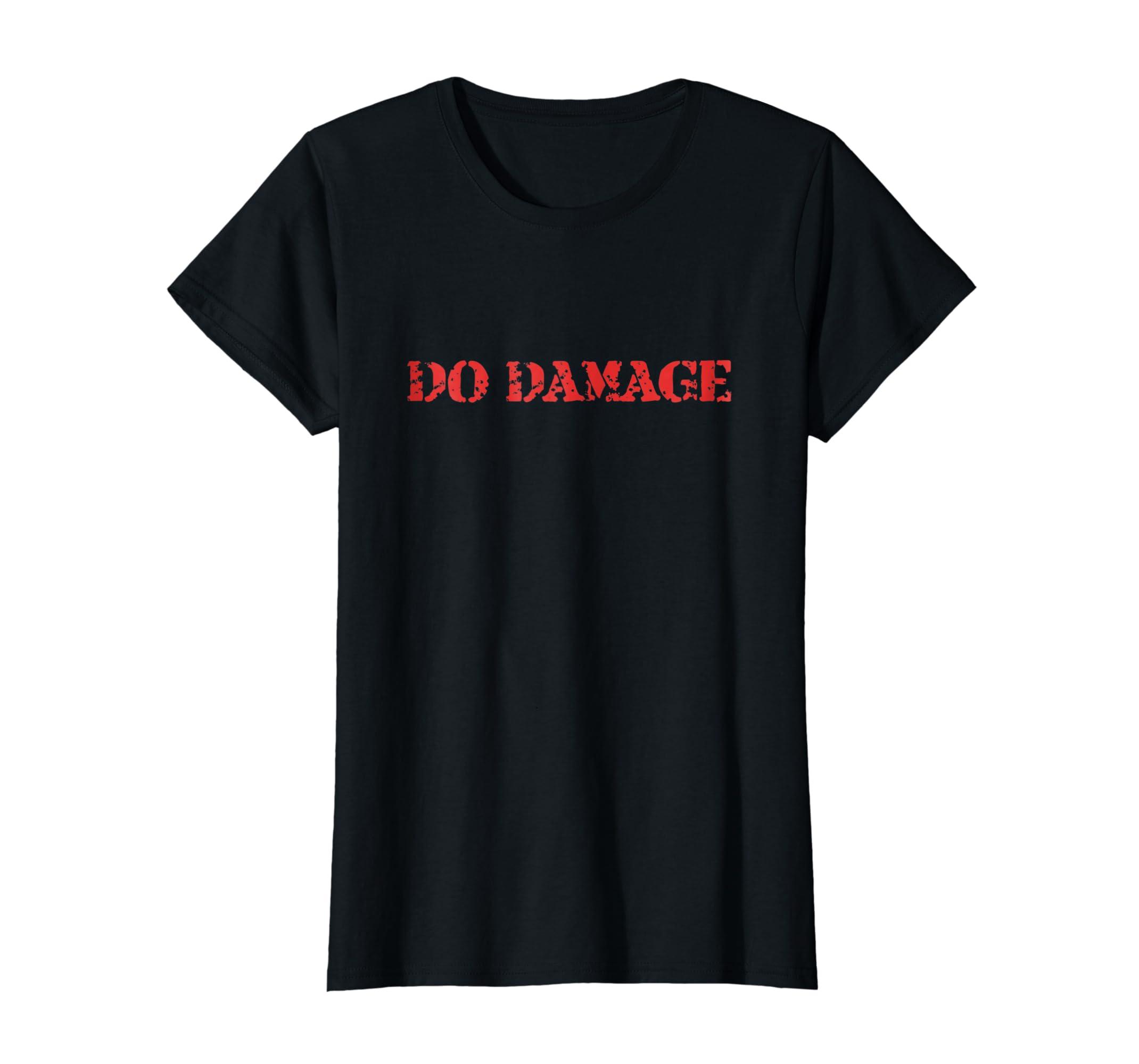 05290982 Amazon.com: Do Damage T Shirt Gift for Boston Baseball Fans: Clothing
