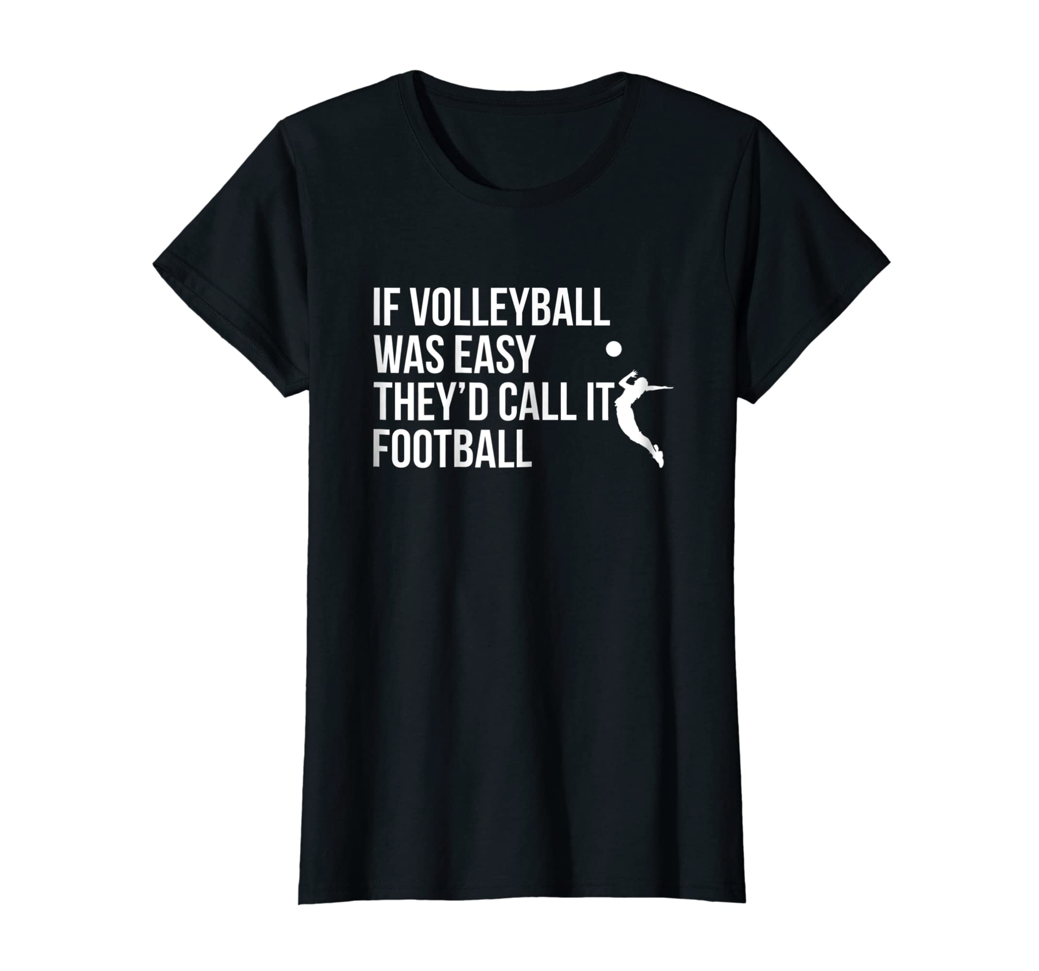 3431f6ef5 Amazon.com: Cute Funny Volleyball T-Shirt For Teen Girls and Women: Clothing