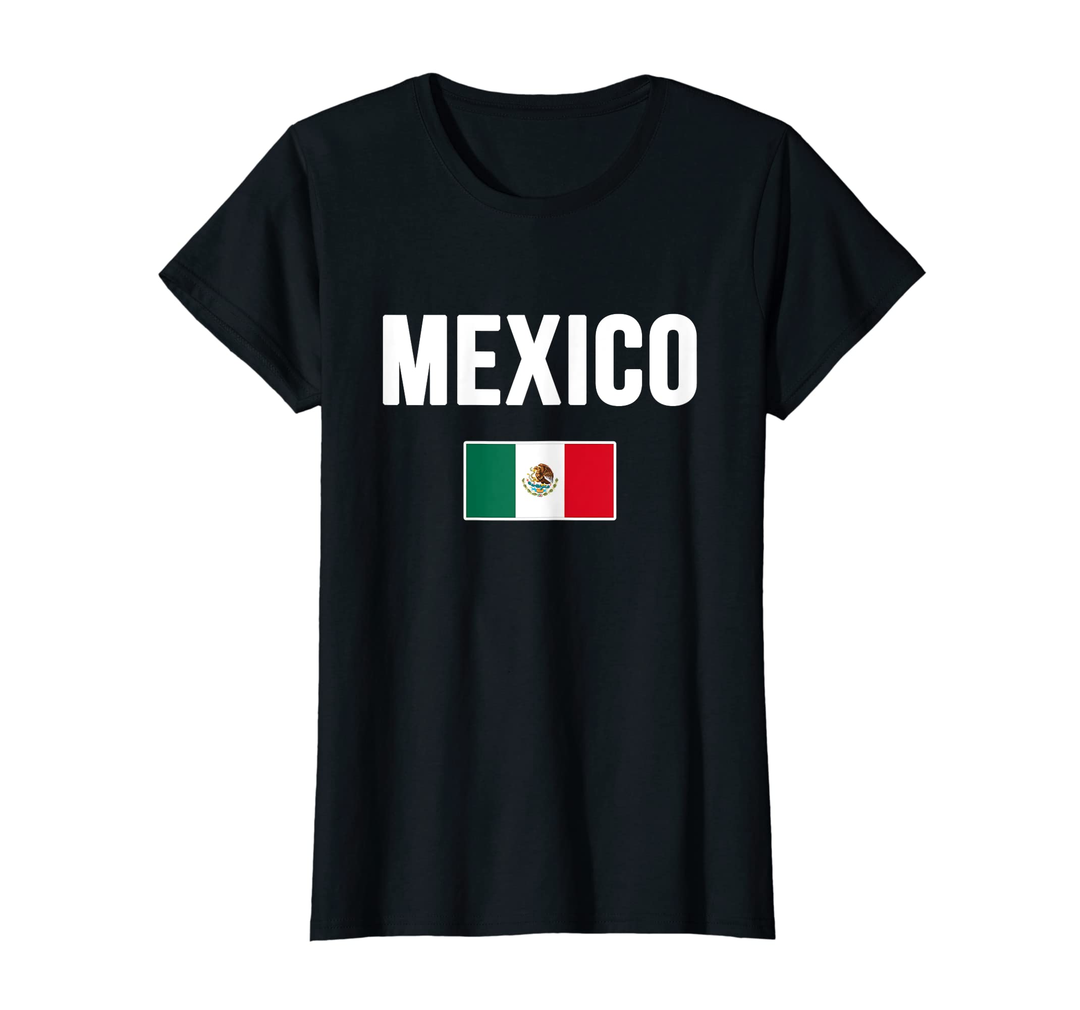 a0100774312 Amazon.com  Mexico T-shirt Mexican Flag Love Gift Souvenir  Clothing