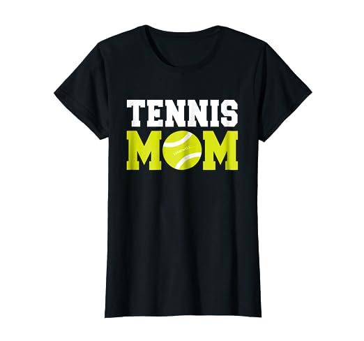 Amazon.com  Womens Tennis Mom Shirt - Funny Tennis Shirts  Clothing 4fdd399f9