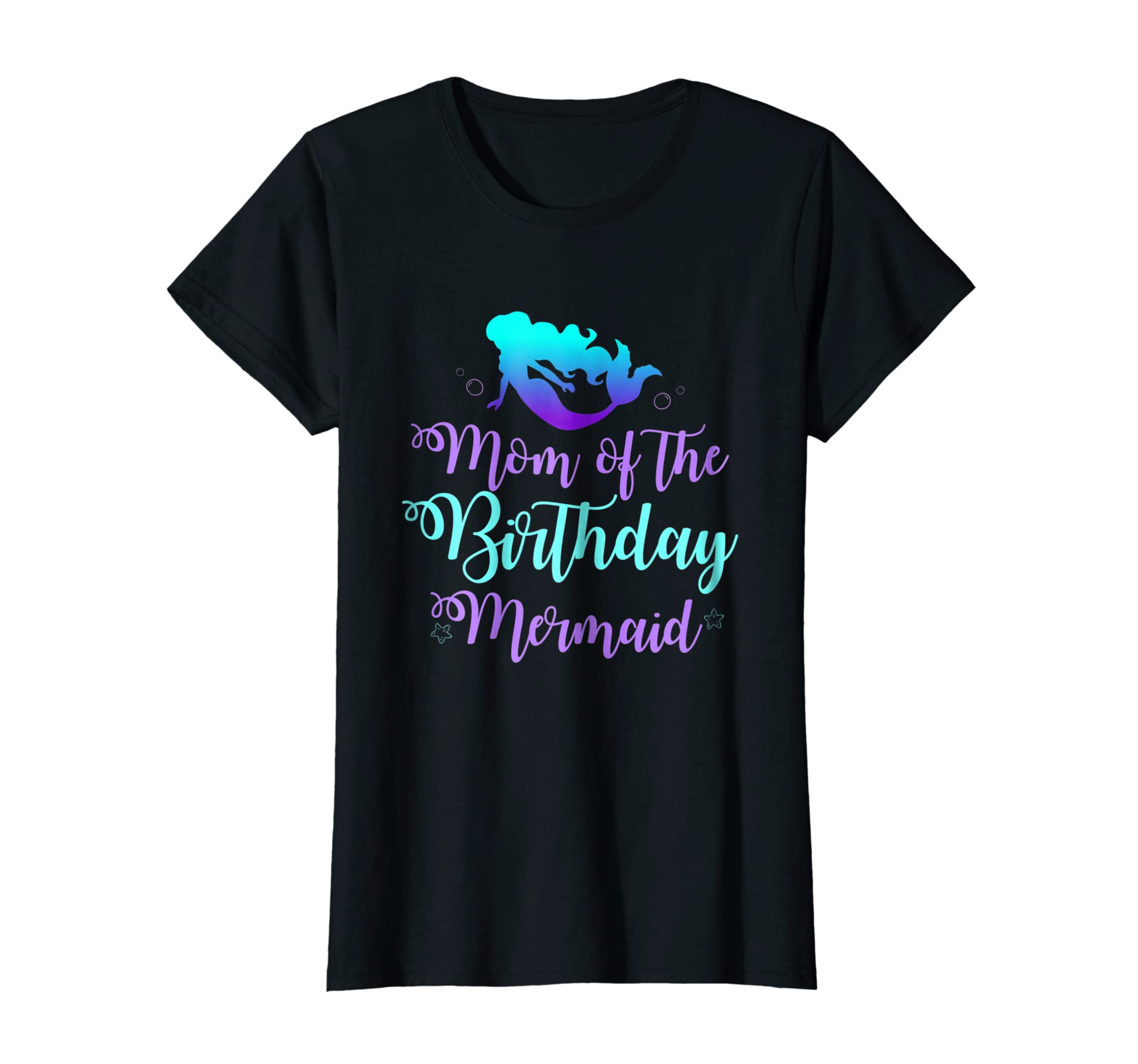 Mom of The Birthday Mermaid Party Outfit Shirts for Women-Teechatpro