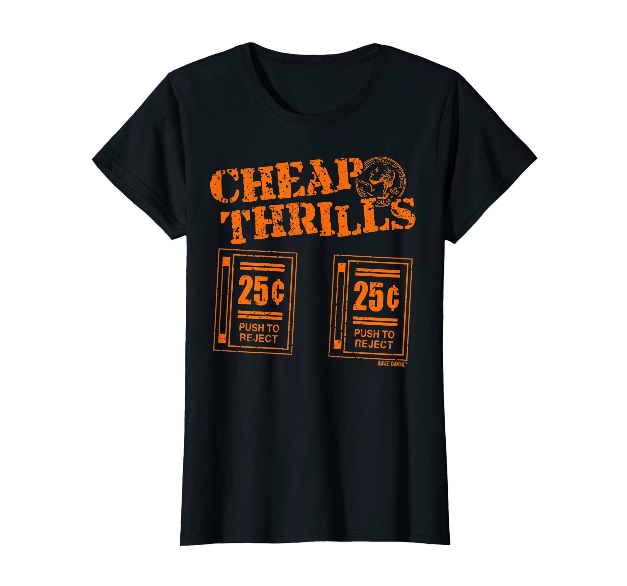 751556e0a Amazon.com: Cheap Thrills - Video Game Men's & Women's Graphic T-shirt:  Clothing