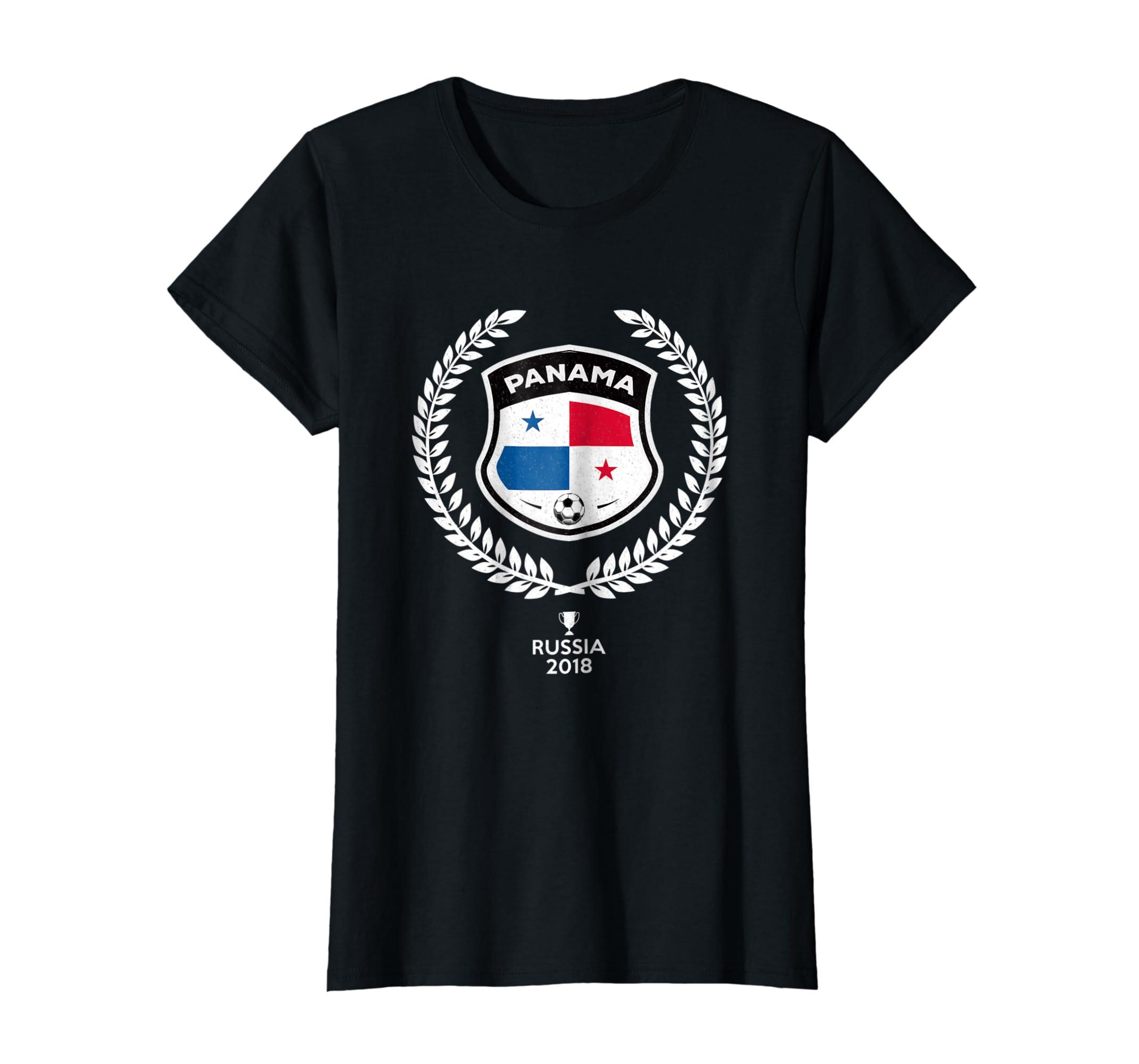 Amazon.com  Panama Soccer Jersey Russia 2018 Football Team Fan Shirt   Clothing d07c79c386ed