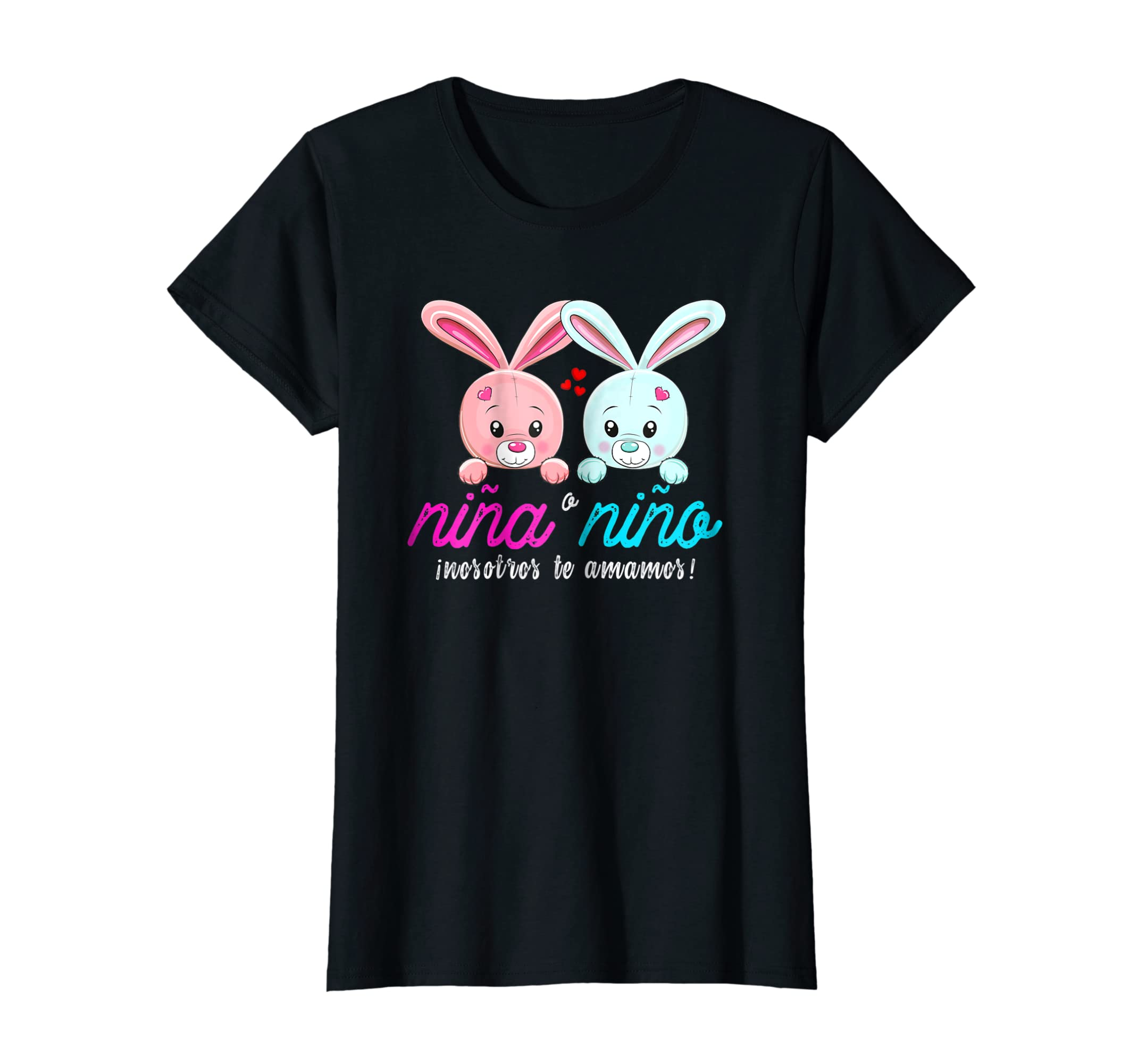 Amazon.com: Playera latina nina o nino para fiesta revelacion de genero: Clothing