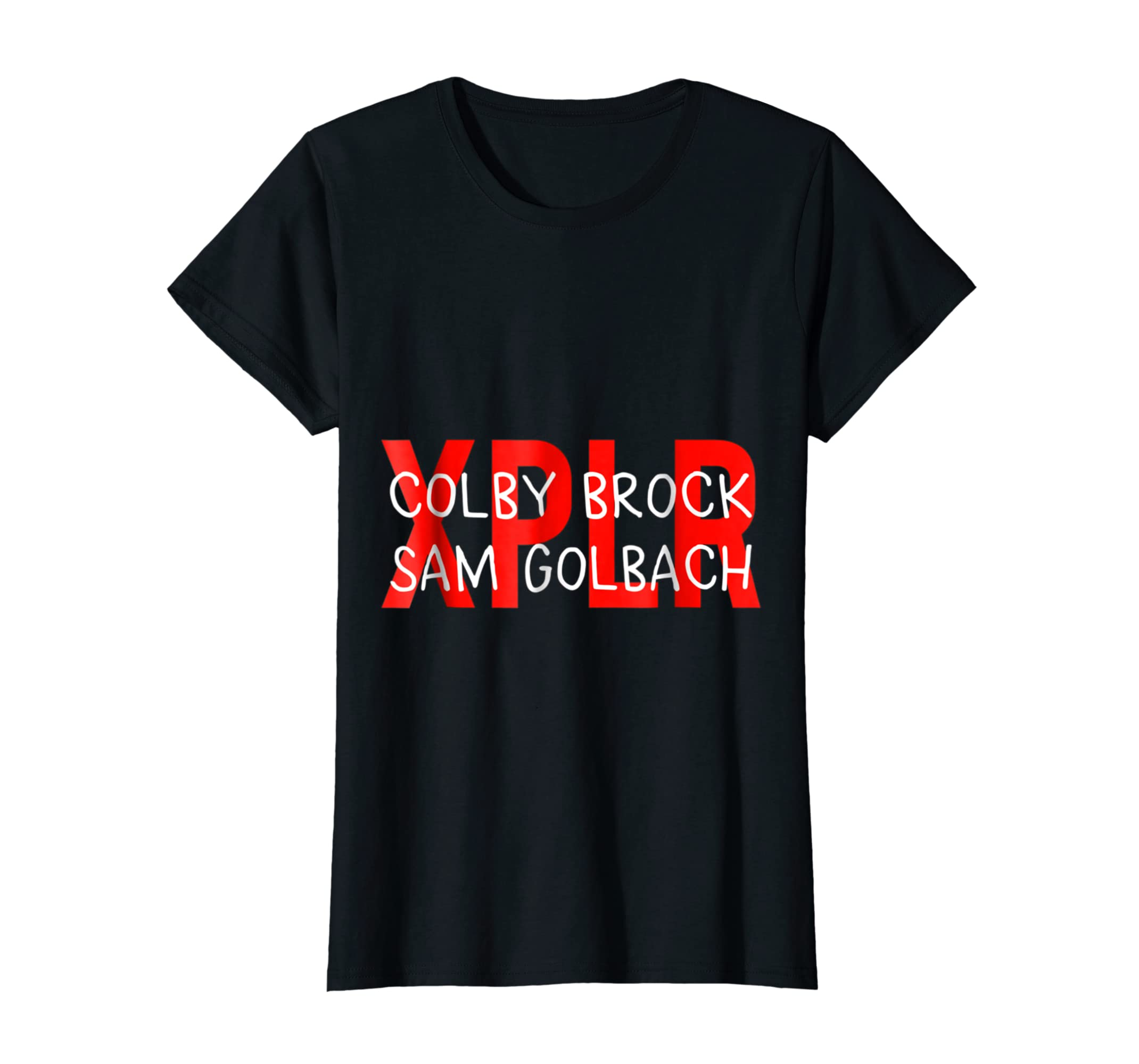 Sam und Colby shirt-Women's T-Shirt-Black