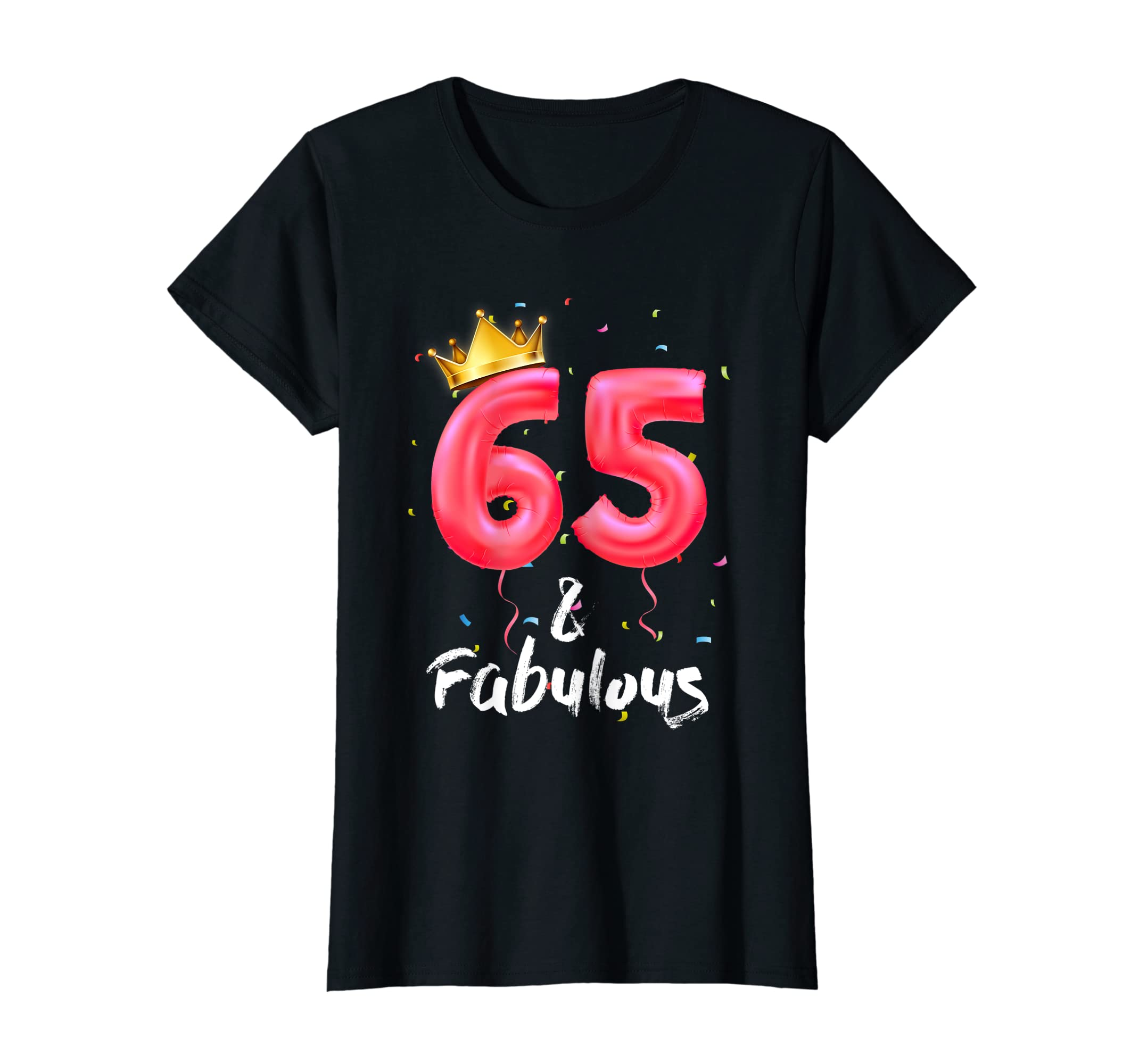 Amazon Womens 65th Birthday Shirt For Women