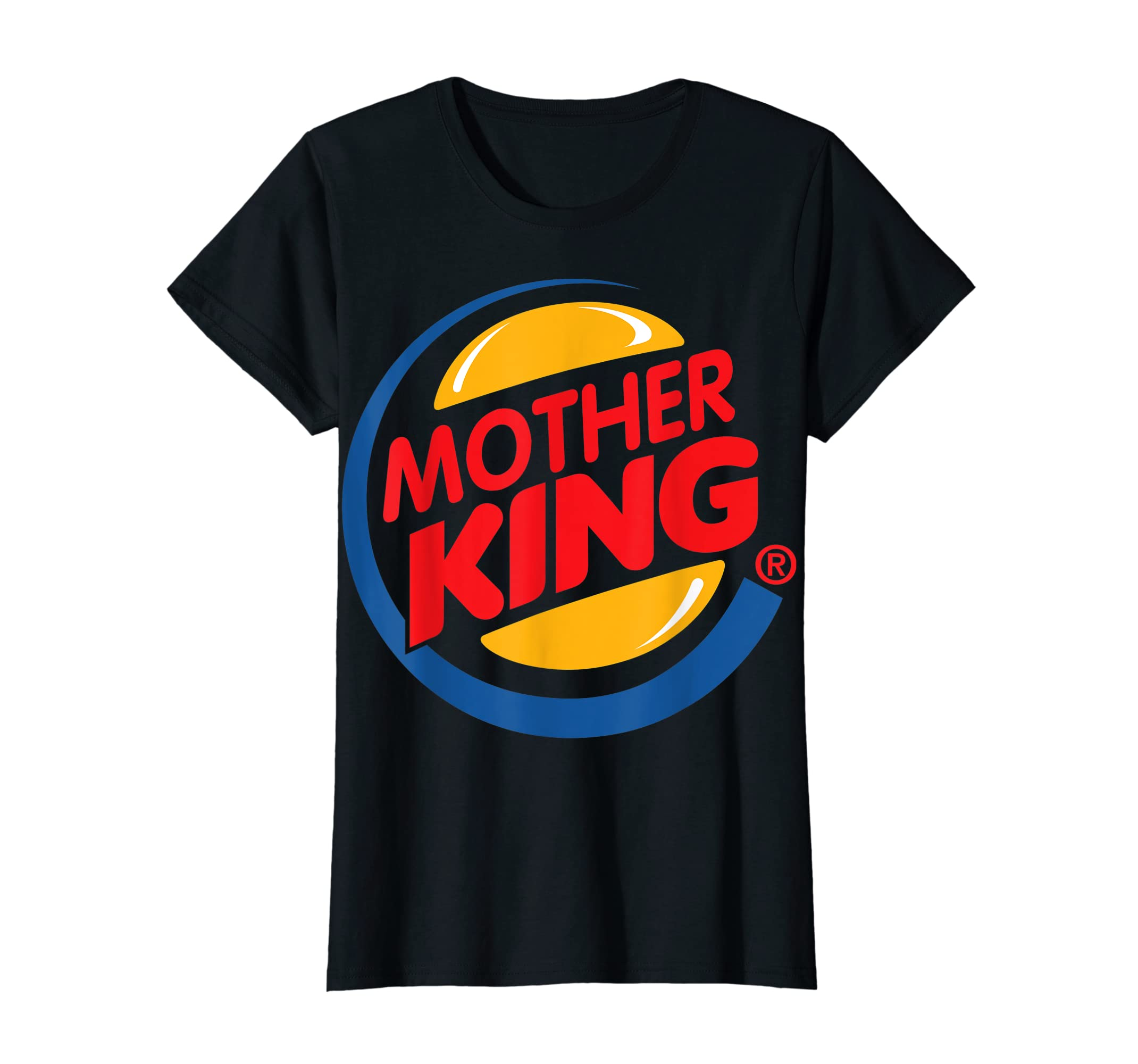 Mothers Day Gift from Daughter Son - Mother King Tshirt-Women's T-Shirt-Black