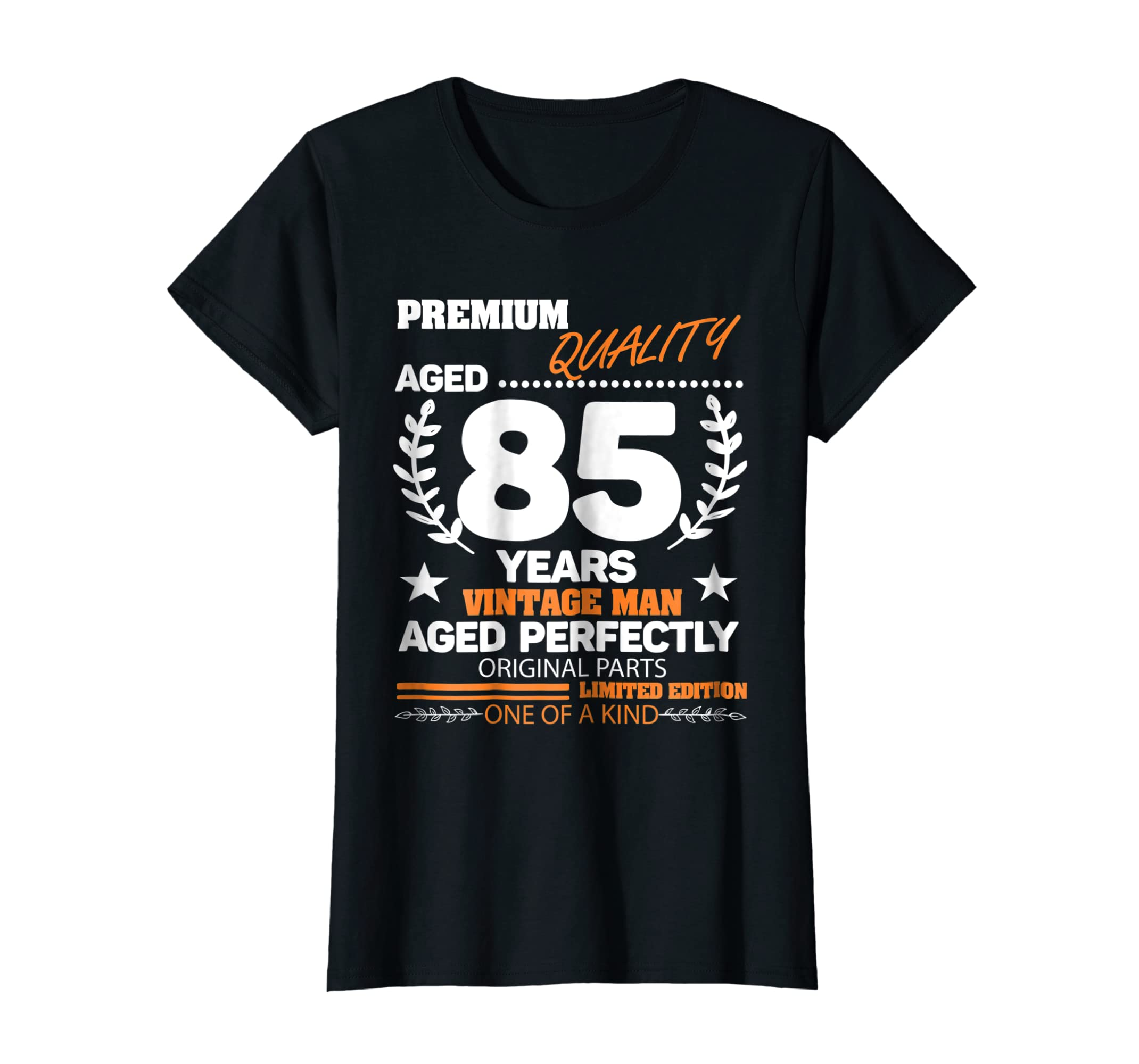 Amazon Vintage 85 Years The Man Perfectly Aged 85th Birthday Shirt Clothing