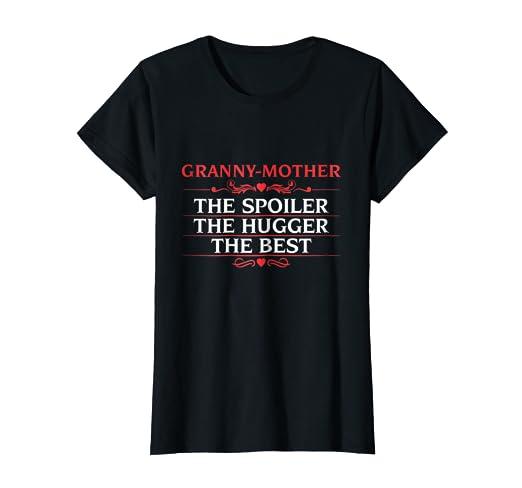 Womens Christmas Or Birthday Gift For Granny Mother Grandma T Shirt