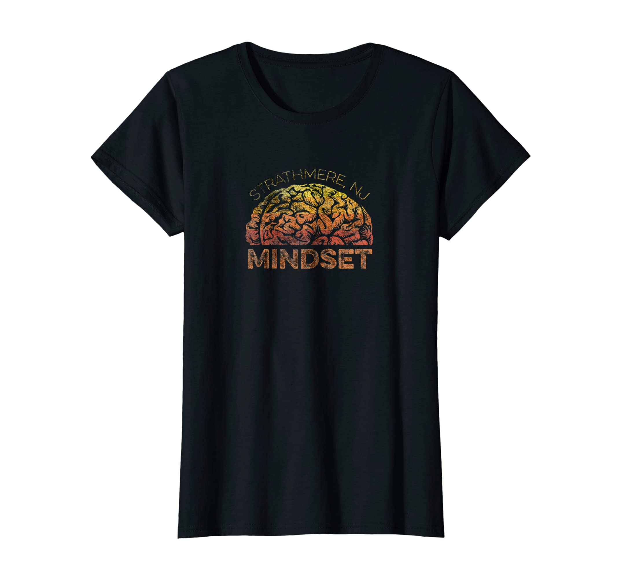 cfb9e9a21 Amazon.com: Strathmere NJ Vacation Mindset T-shirt: Clothing