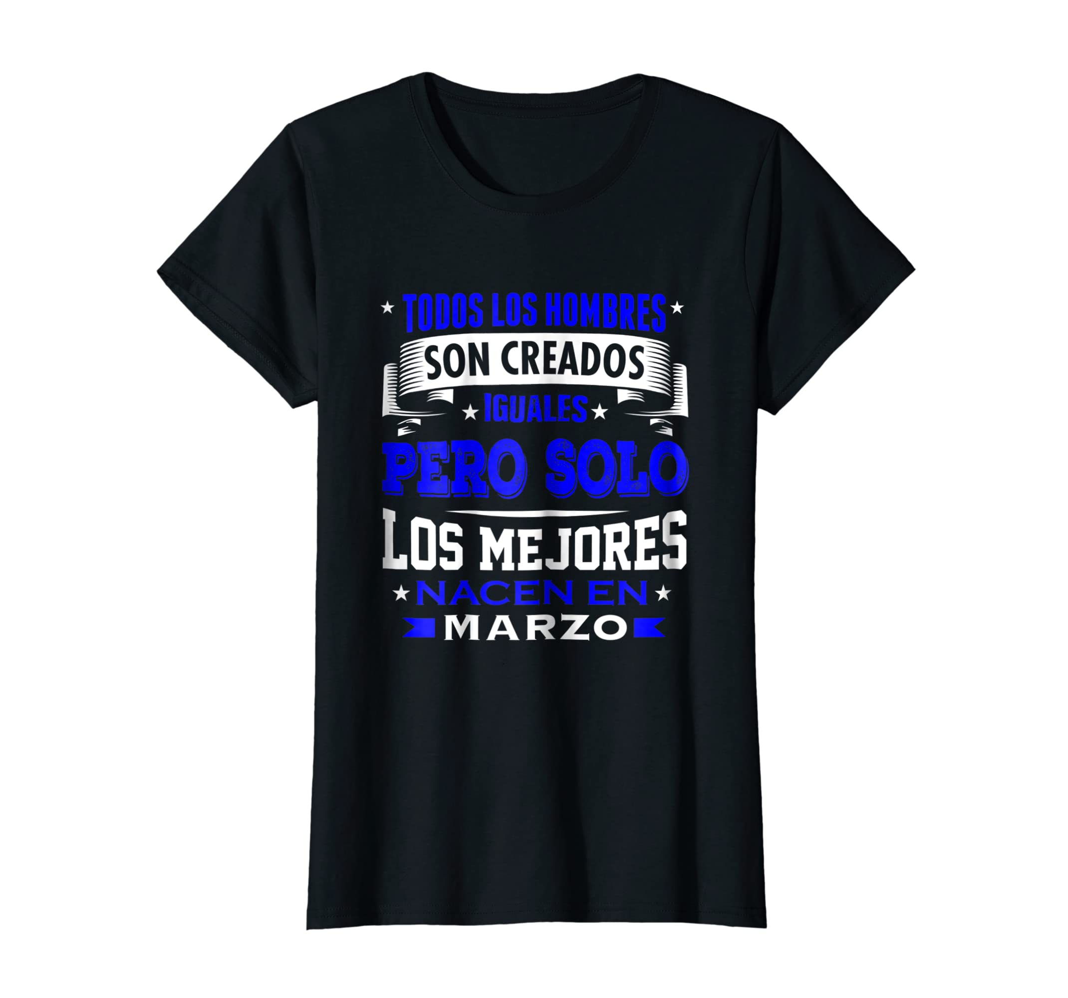 Amazon Los Hombres Iguales Mejores Marzo Birthday Shirt Gift Clothing