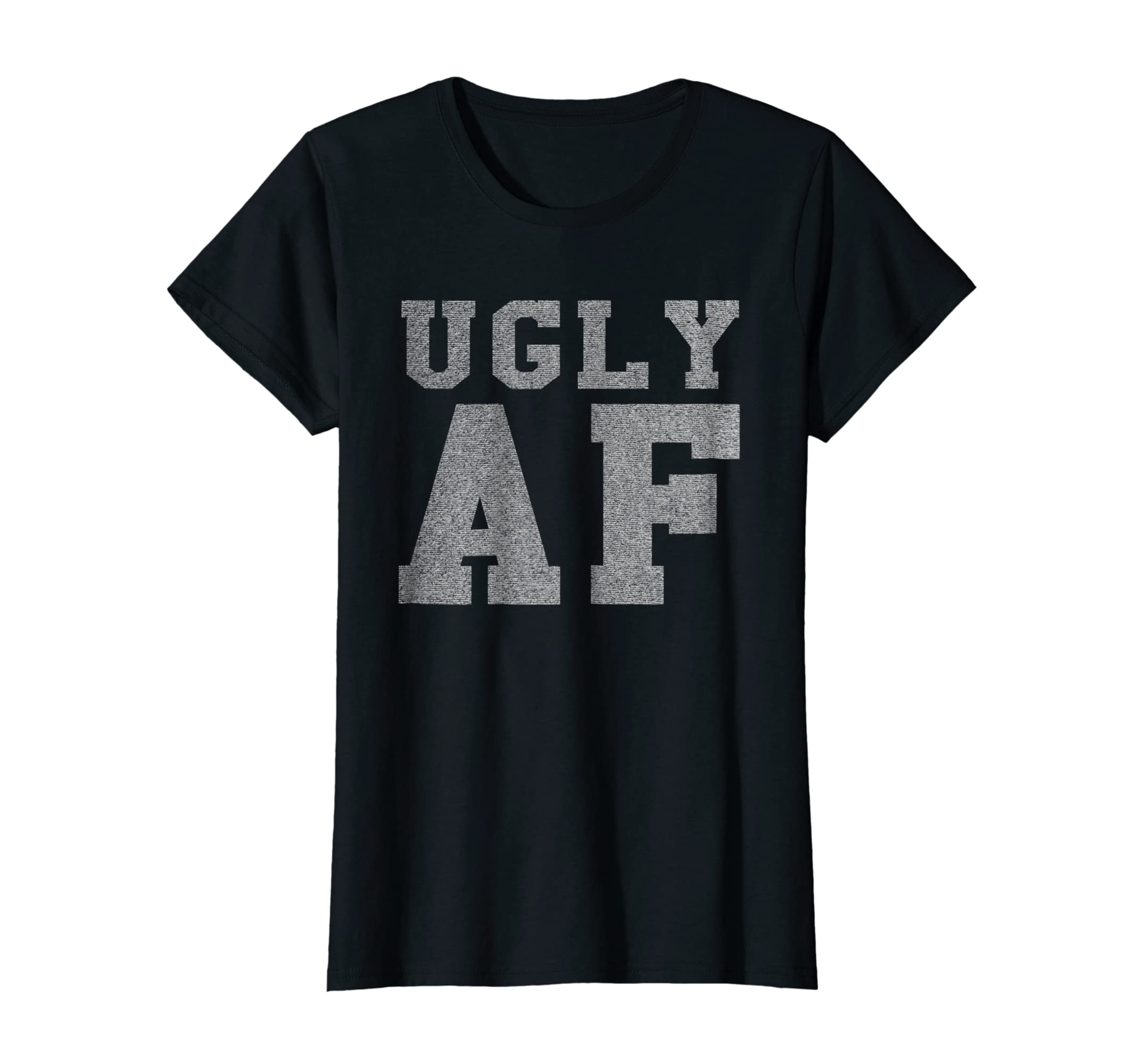 913f80bdf Amazon.com: Vintage Retro Style Ugly AF Funny T-Shirt: Clothing