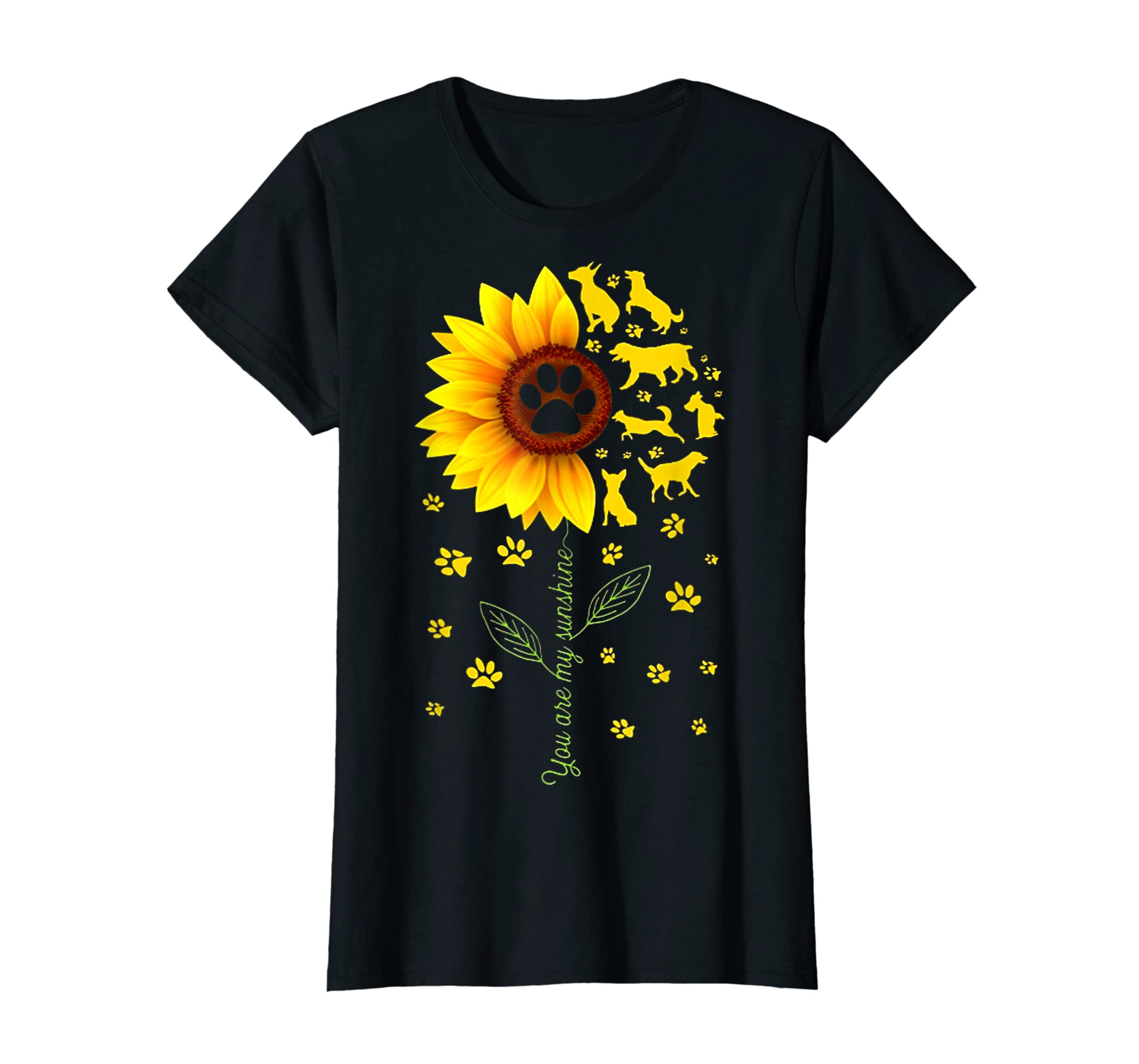 You are my Sunshine t-shirt-Women's T-Shirt-Black