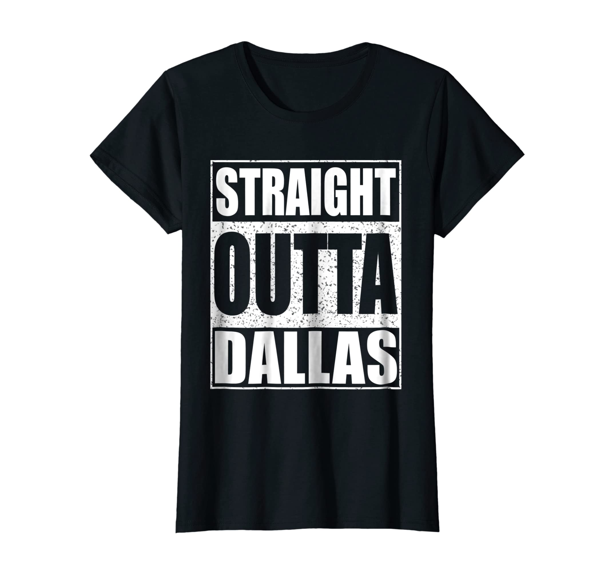 a89cf39c861 Amazon.com  Straight Outta Dallas T-shirt Texas Gift Shirt  Clothing