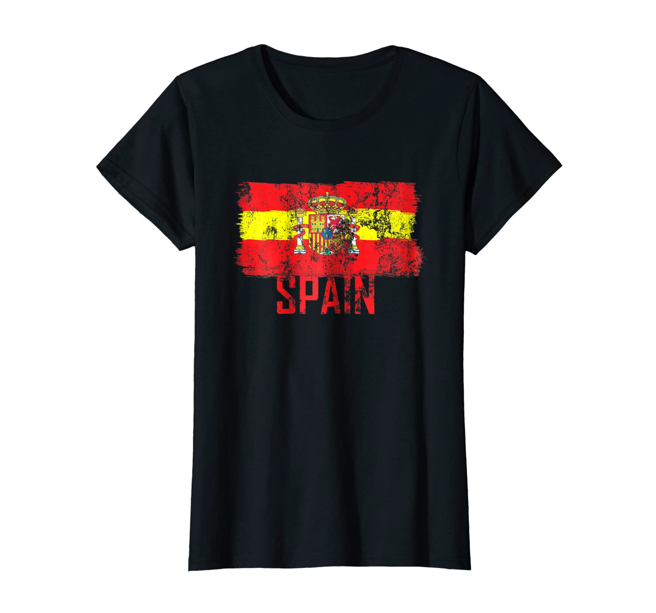 Amazon.com: Spain Jersey Shirt Soccer Flag Espana Men Women Kid ...