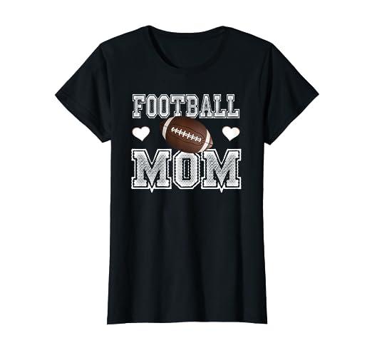 reasonably priced factory outlets latest discount Amazon.com: Womens Football Mama Shirts - Cute Football Mom ...
