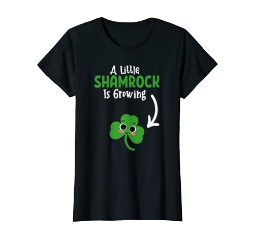c78693d3 Cute Funny st patricks day Pregnancy Announcement shirt | Weshop Vietnam