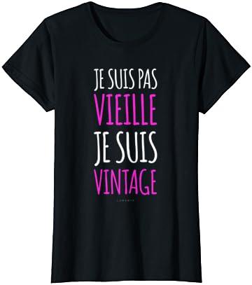 Femme T-shirt Humour – Je Suis…