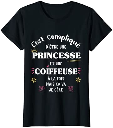 Femme Coiffeuse et Princesse à…
