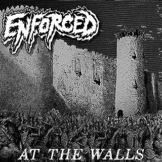 at wall